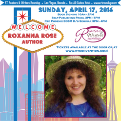 RT 2016 Romantic Times 2016 author writer Roxanna Rose