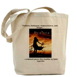 YA Young adult paranormal fantasy desires book novel author writer roxanna rose tote bag